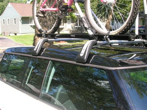 Yakima Or Thule Bike Rack by Pictures Of Yakima Or Thule Roof Bike Rack On The Oem Mini