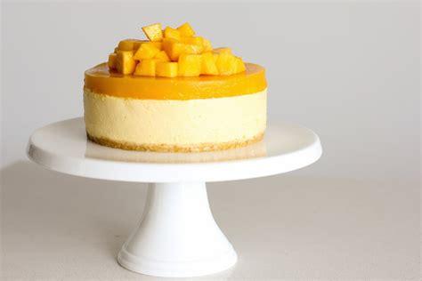 Mango Cheesecake green cilantro mango cheesecake for