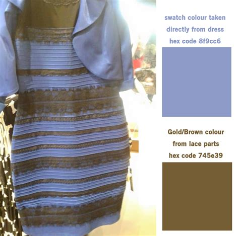 color of the dress what color is the dress why do some people see blue and