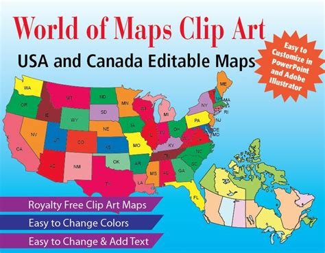 Free Editable Map Of Usa And Canada 28 Images Maps For Editable Map Of Usa