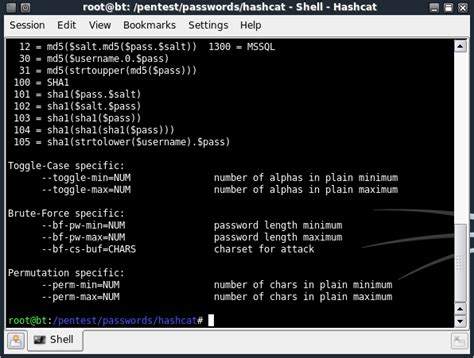 tutorial hack linux hashcode cracking using hashcat backtrack 4 tutorials