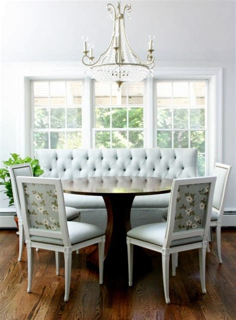 banquette with round table banquettes round tables and breakfast on pinterest
