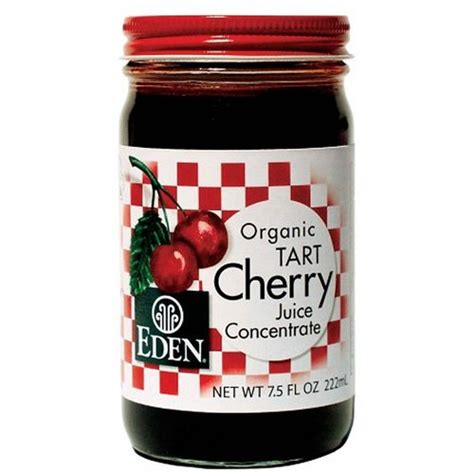 Tart Cherry Juice Liver Detox by Foods Organic Tart Cherry Juice Concentrate 7 5 Fl