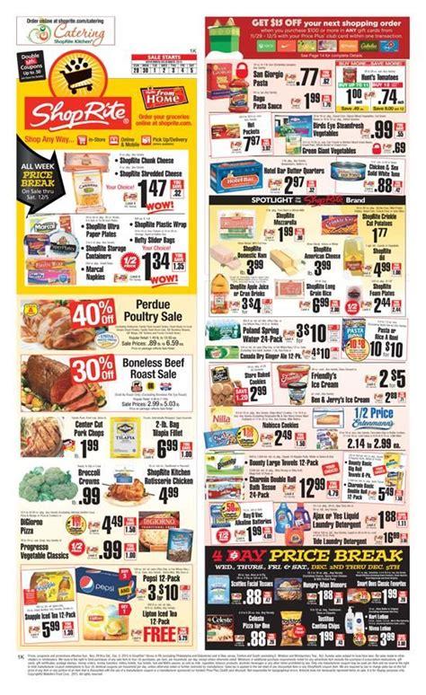starts sunday shoprite weekly circular budget weekly circulars weekly ads deal sale ads