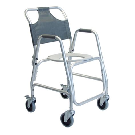 Shower Wheelchairs by Lumex Deluxe Shower Transport Chair Highland Orthopedic Supply Braces Mobility Bathroom