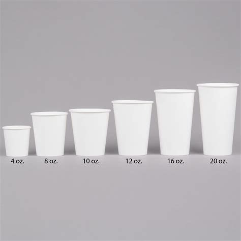 Cup 55gr 12 16oz choice 16 oz white poly paper cup 1000
