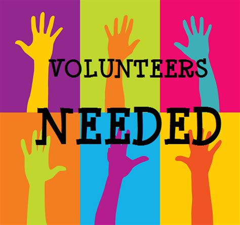 We are looking for a few volunteers to help us kick off our school