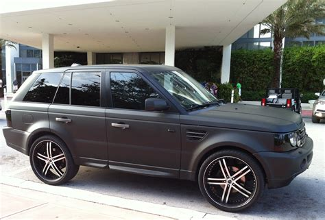 Mercedes Land Rover Matte Black 28 Images Range
