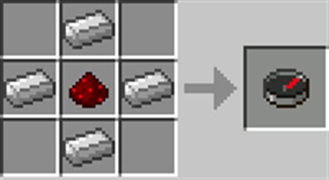 Redstone L Recipie by Le Crafting Minecraft Wiki