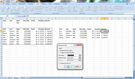 tutorial excel advanced filter excel advanced filters quick easy tips to save time