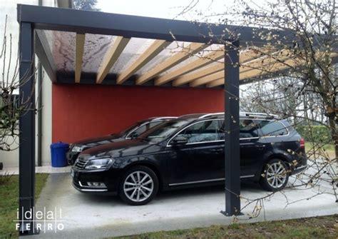 carport ideal struttura posto auto coperto carport con copertura in policarbonato