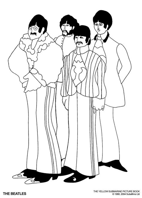 beatles coloring pages google search adventure