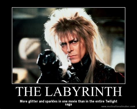 Labyrinth Meme - you have no power over me coming through the rye