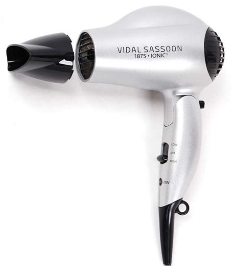 Hair Dryer Vidal Sassoon vidal sassoon vs784 1875w travel dryer review