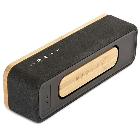 Mini Bluetooth Speaker Fabric marley get together mini portable bluetooth speaker sig black bamboo rewind fabric prices