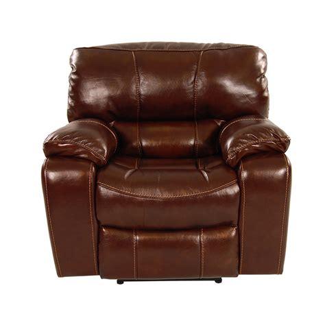hudson power motion leather recliner el dorado furniture
