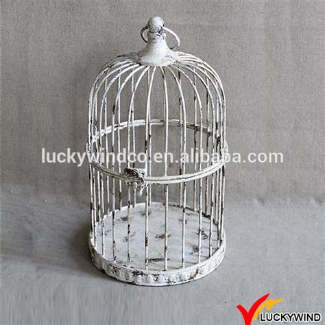 wholesale rustic small decorative bird cages wedding