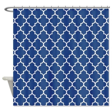 blue and white shower curtains navy blue shower curtains in 10 awesome patterned designs