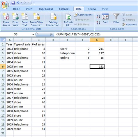 tutorial excel sumif how to use the countif and sumif functions in excel a