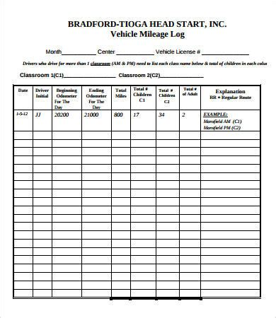 vehicle service record template vehicle maintenance log 7 free pdf excel documents