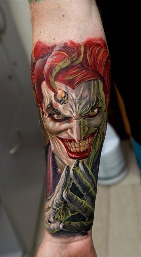 Joker Tattoo Portsmouth Review | 20 twisted dc s joker tattoos tattoodo