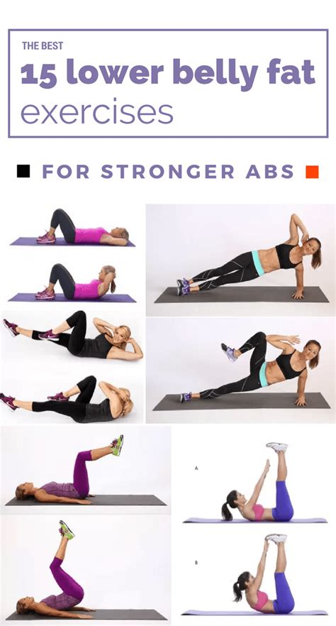 the best 15 lower belly exercises for stronger abs exercise belly workout lower