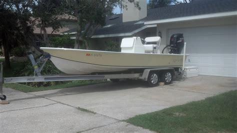 flats bay boats for sale 22 custom sermon bay flats boat the hull truth