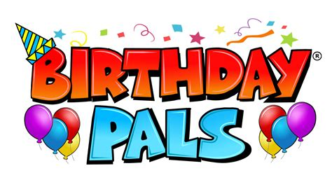 happy birthday logo design png birthday pals targeted mail solutions welcome host