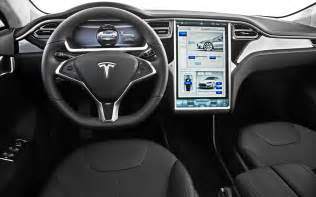 Tesla Model S Pictures Interior 2013 Motor Trend Car Of The Year Tesla Model S Photo