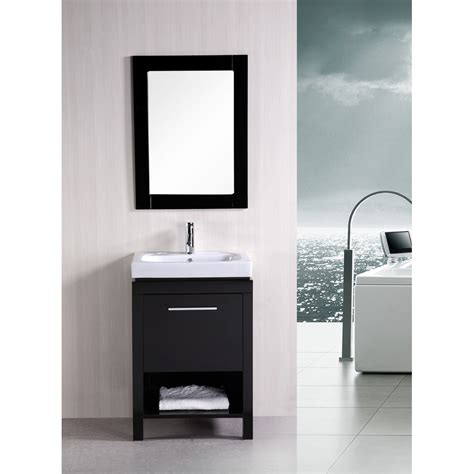design element bathroom vanities design element new york 24 quot contemporary bathroom vanity