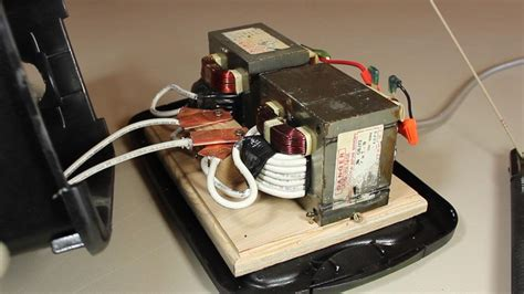 how to make an ac arc welder using parts from an