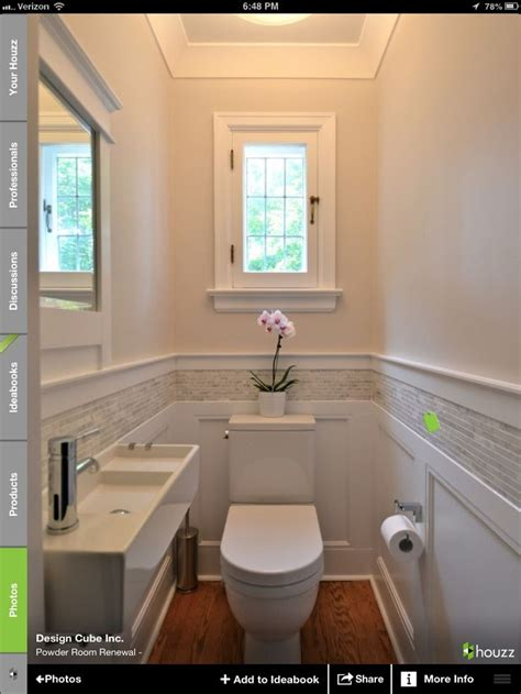 Bath Tile  Wainscoting Love