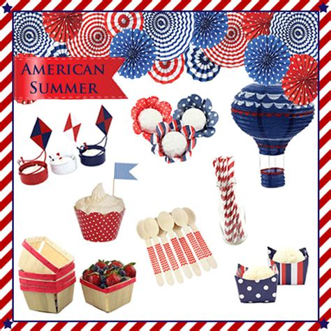 american themed decorations 4th of july inspiration and ideas via blossom