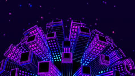 city disco lights city neon by minimultik videohive