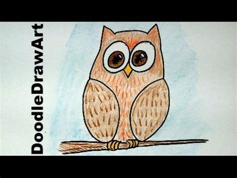 8 best images about easy how to draw an easy wise owl beginner