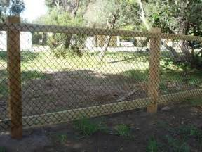 charming fencing options cheap material for