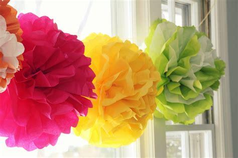 How To Make Paper Tissue Balls - 35 tissue paper pom poms guide patterns