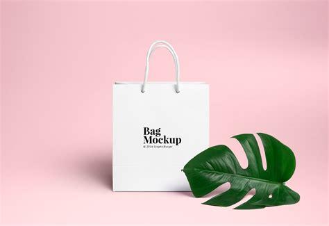 bag design mockup shopping bag psd mockup 2 graphicburger