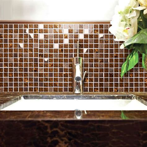 Glass Tile Backsplash In Bathroom » Home Design 2017