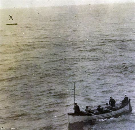 titanic picture of boat the titanic s last lifeboat pictured which still contained