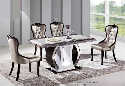 marble top dining room table fashion modern dining room table marble top dining tables