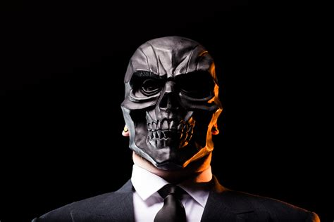 Masker Black Mask black mask ghettoblaster magazine