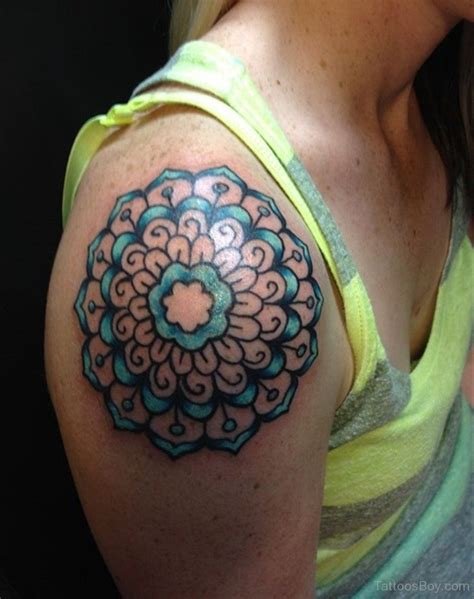 colored tattoo designs mandala tattoos designs pictures page 9