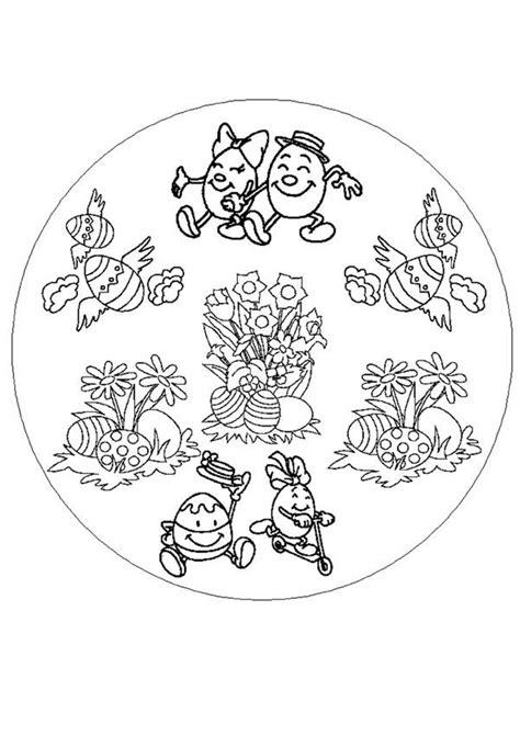 www mandala desenhos para colorir de desenho de um mandala com ovos de