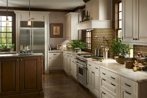 Brookhaven Kitchen Cabinets by Inset White Traditional Kitchen Traditional Kitchen