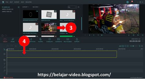 tutorial filmora indonesia cara menghilangkan noise video dengan filmora belajar video