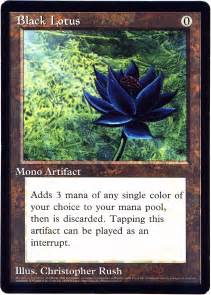 Lotus Cards Mtg Magic The Gathering Notes From The Underground