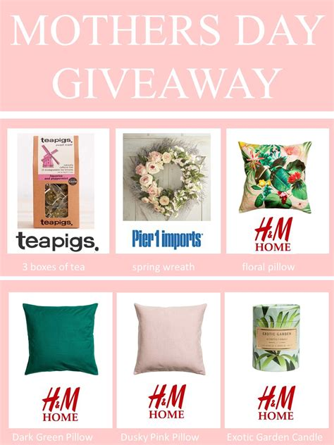 Mother Day Contests And Giveaways 2017 - mega mothers day giveaway amanda forrest