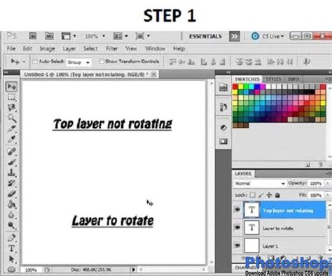 tutorial adobe photoshop cs6 portable rotate a layer in photoshop cs6 photoshop portable