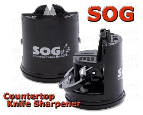 Sog Countertop Sharpener by S O G Sog Countertop Knife Sharpener Sh 02 New Ebay